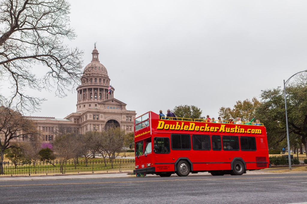 Double Decker Austin - Hop On Hop Off Double Decker Sightseeing Tours